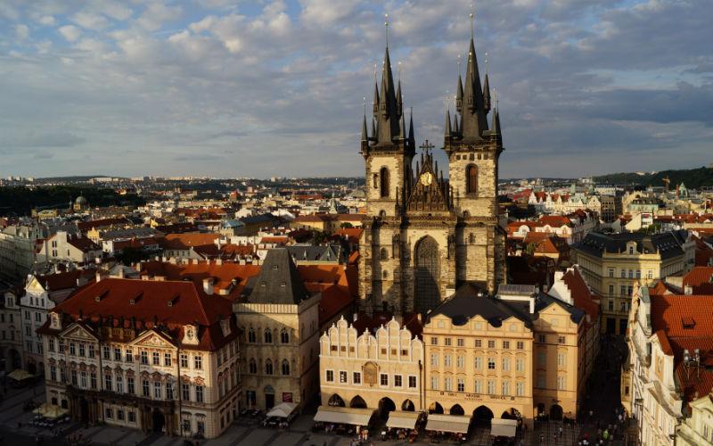 Staré Město - Ciudad Vieja de Praga