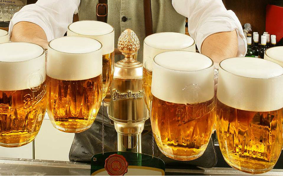 Tour de la Cerveza Praga