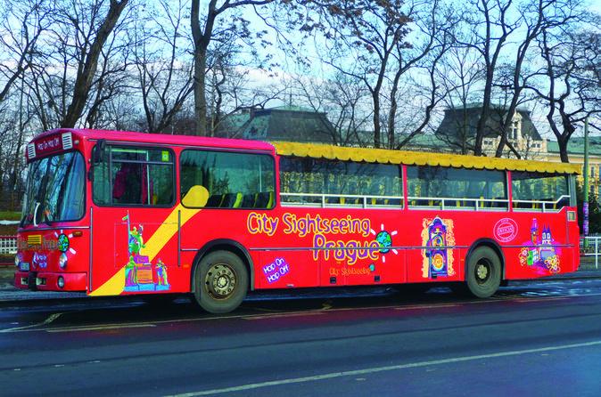 Bus turístico de Praga
