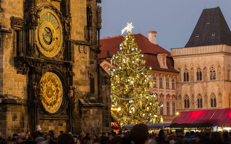 Praga en navidad y sus mercados navideños