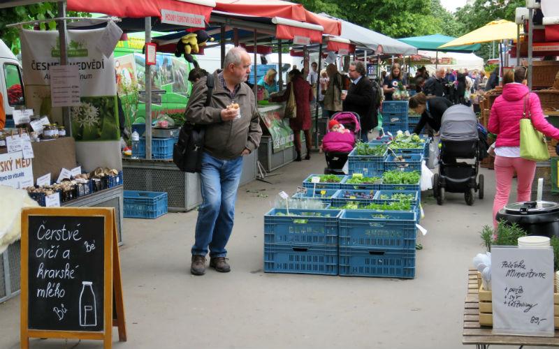 Mercado náměstí Jiřího z Poděbrad