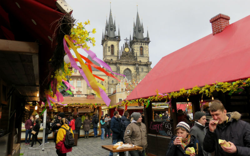 Mercados de Praga