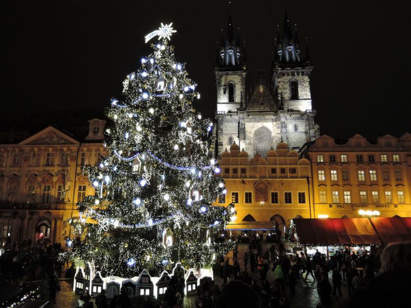 Mercados navideños Praga