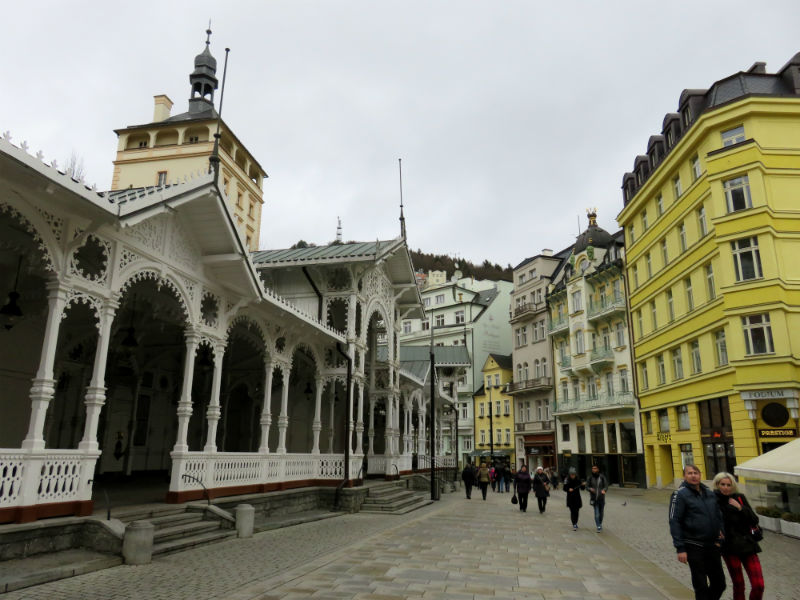 Columnatas del Mercado de Karlovy Vary