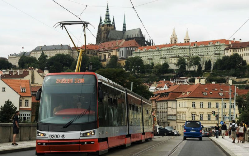 Transporte público en Praga