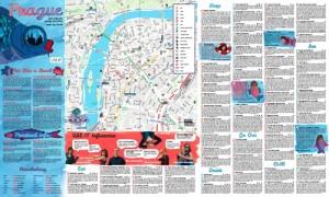 Mapa de Praga USE-IT