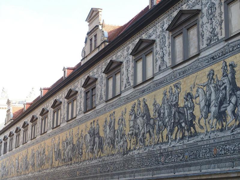 Mosaico del desfile de los príncipes
